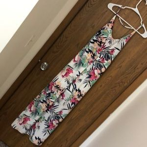 H&M gorgeous floral tropical flower dress 6
